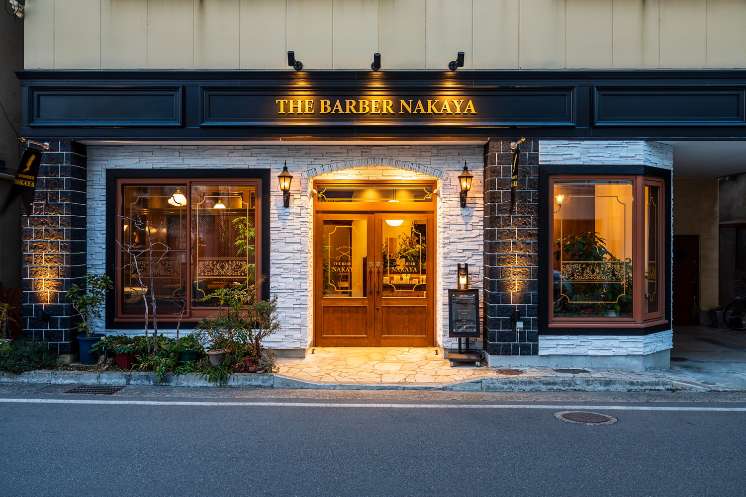 「THE BARBER NAKAYA」リニューアル!