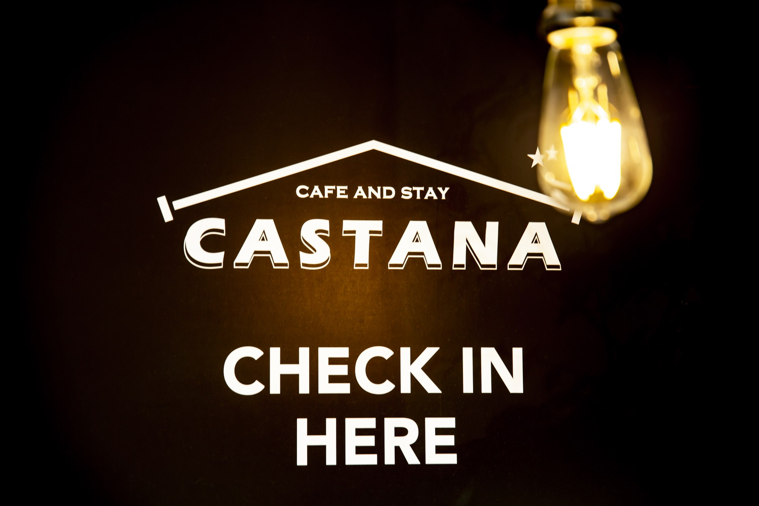 cafe and stay CASTANA